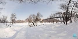 Parcul Nicolae Romanescu - iarna