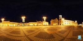 Piata Mare din Sibiu - noaptea