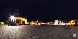 Piata Unirii din Cluj-Napoca - noaptea