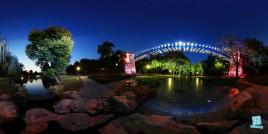 Podul Suspendat - Parcul Nicolae Romanescu