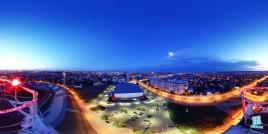 Sala Polivalenta din Craiova - vedere aeriana